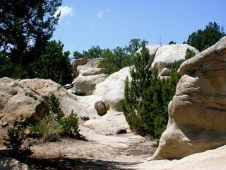 White Boulders in Colorado